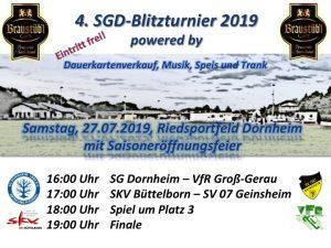 4. SGD-Blitzturnier @ Riedsportfeld | Groß-Gerau | Hessen | Deutschland